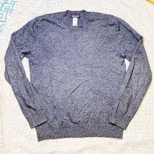 Patagonia Men 100% Cashmere Pullover Dress Sweater